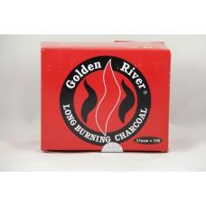 Golden River Long Burning Charcoal (33mm*100)